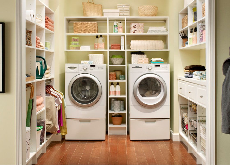 Einen Idealen Hauswirtschaftsraum Einrichten Und Den Haushalt Noch Besser Meistern Tipps Inspirationen Waschkuchendesign Waschkuchenregal Und Kleine Waschkuche