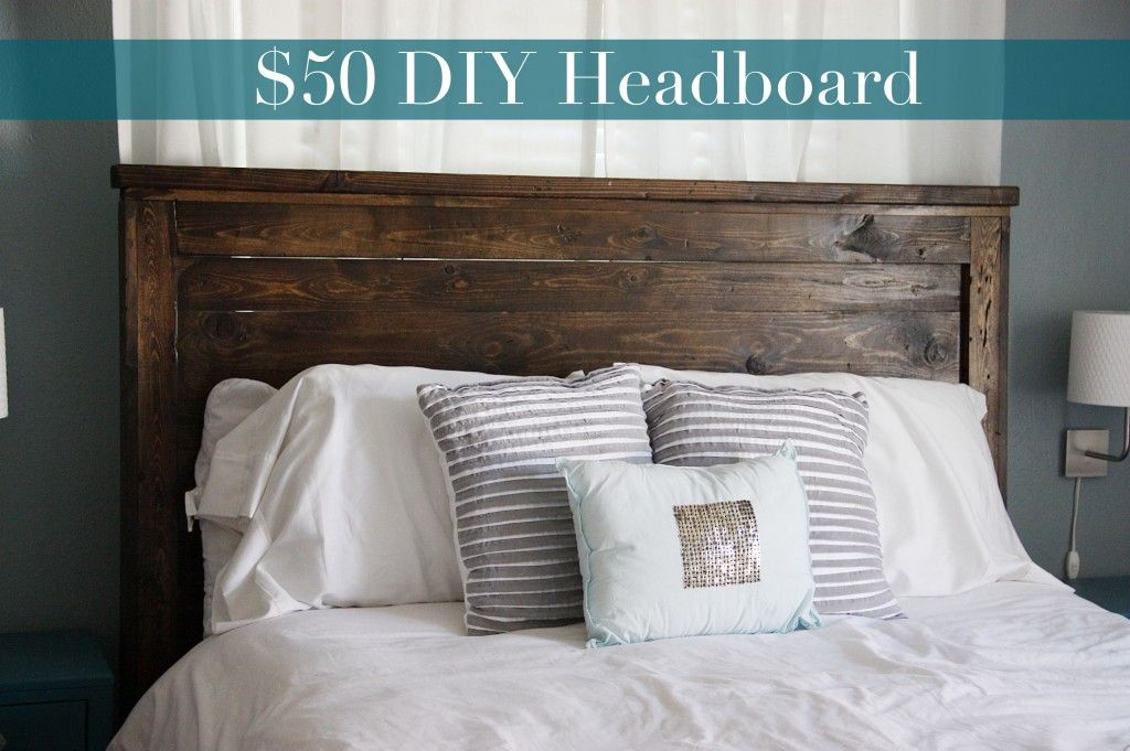 queen headboard diy