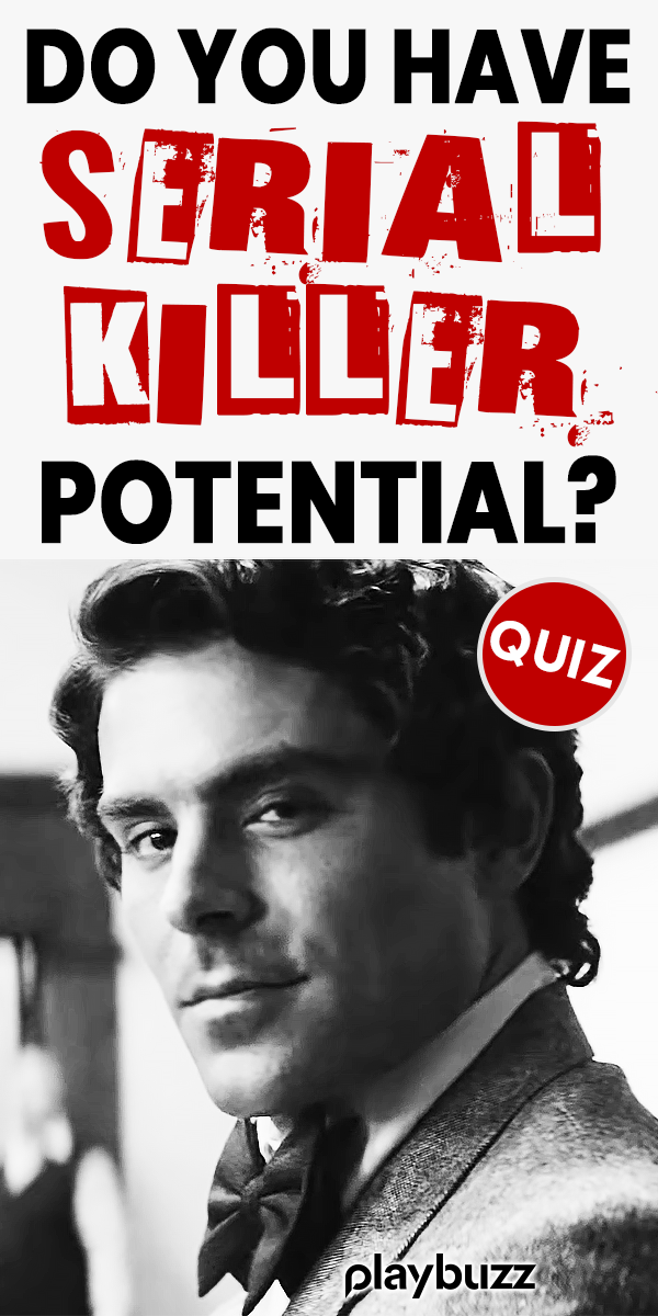 Do You Have Serial Killer Potential? Take this Quiz To Find