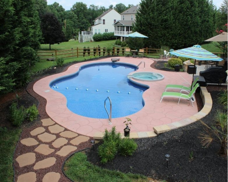 11 Simple Pool Landscaping Ideas That Fit Your Budget Medallion