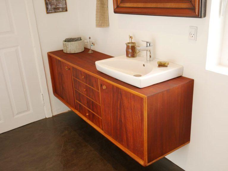 Nyt badeværelse | Skab under vask DIY | Tip til indretning