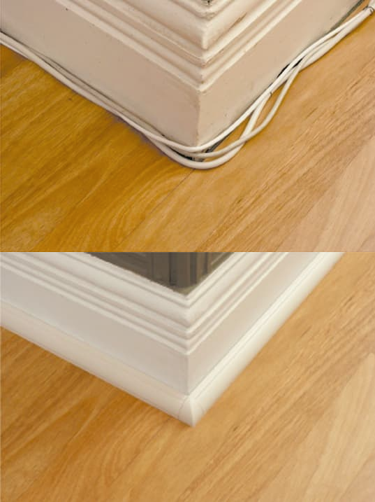 Best Looking Solution For Running Floor Cables Hide Cables