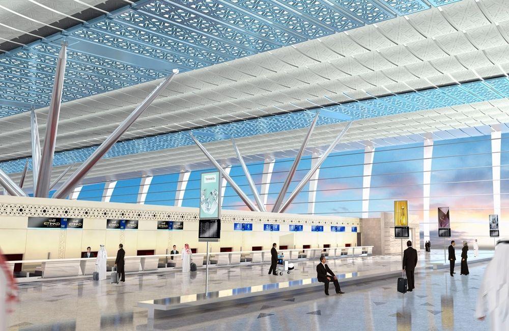 The 10 Most Beautiful Airports In The World 666 Travel King Abdulaziz International Airport Grand Mosque World