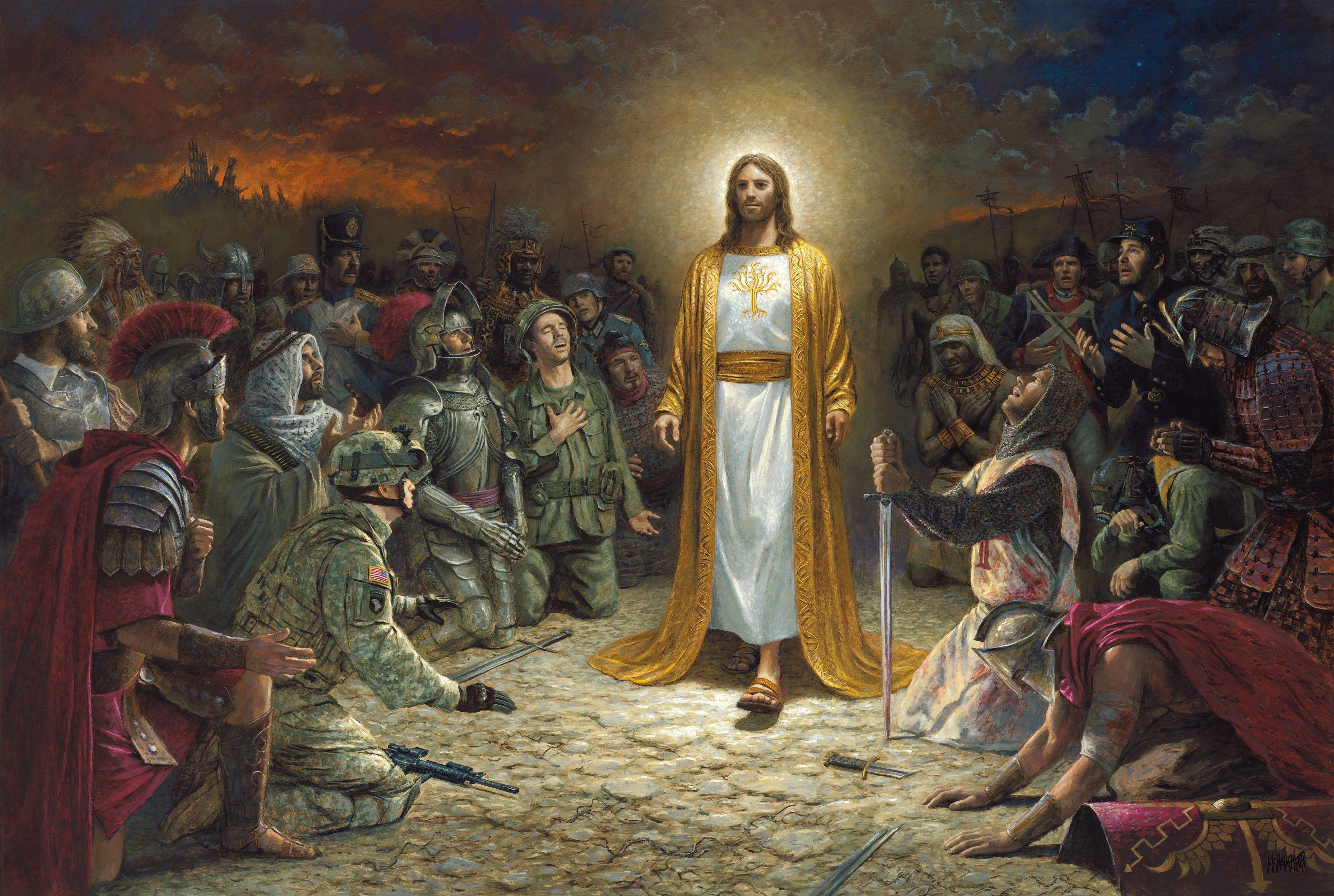 Jesús Rey de Reyes. | Guerreros de cristo, Pintura de jesús, Arte de  escritura