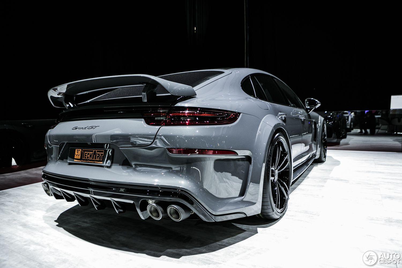 Geneva 2017 Porsche Panamera Techart Grand Gt Porsche Panamera Porsche Cars Custom Porsche 2017 techart porsche panamera grand gt