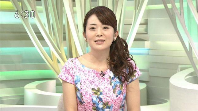 当時NHKの橋本奈穂子さん