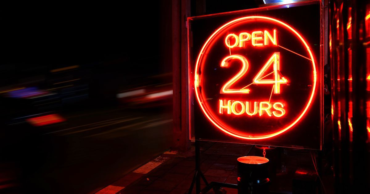 Restaurants Open for 24Hour Dining Around Atlanta