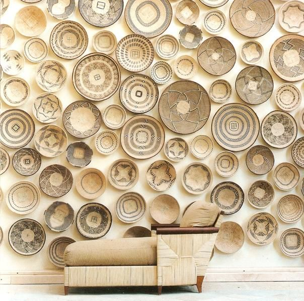Wall Baskets Decor modern basket decor — inspiration gallery | african interior
