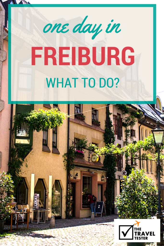 One Day in Freiburg, Germany? See The Highlights