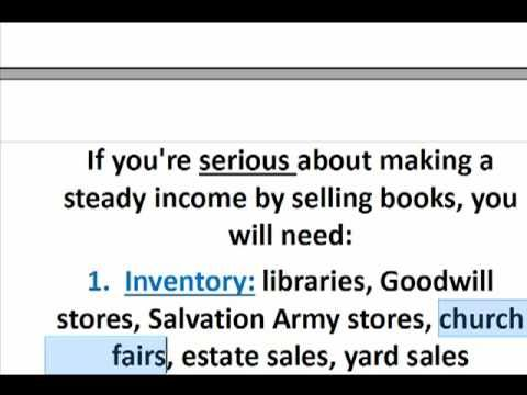 how to sell books on amazon com