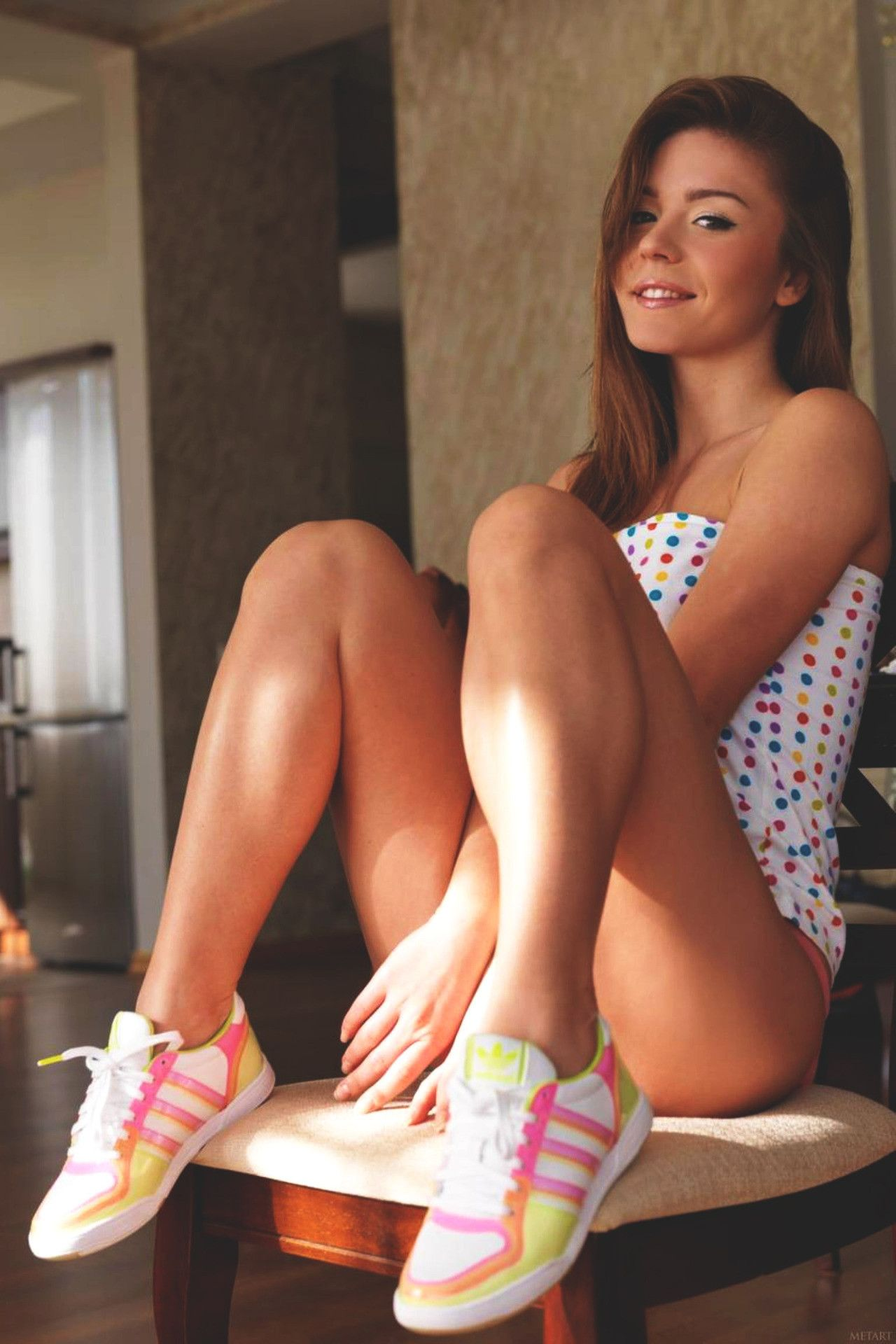 Cute Teens vthebox : fridaxteens: blog more cute teens dresses,girl