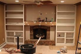 Rezultate Imazhesh Për Build Bookcases Around Brick Fireplace