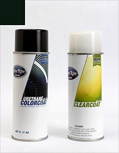 ColorRite Aerosol Toyota Tundra Automotive Touchup Paint Black 202  ColorClearcoat Package ** To View Further