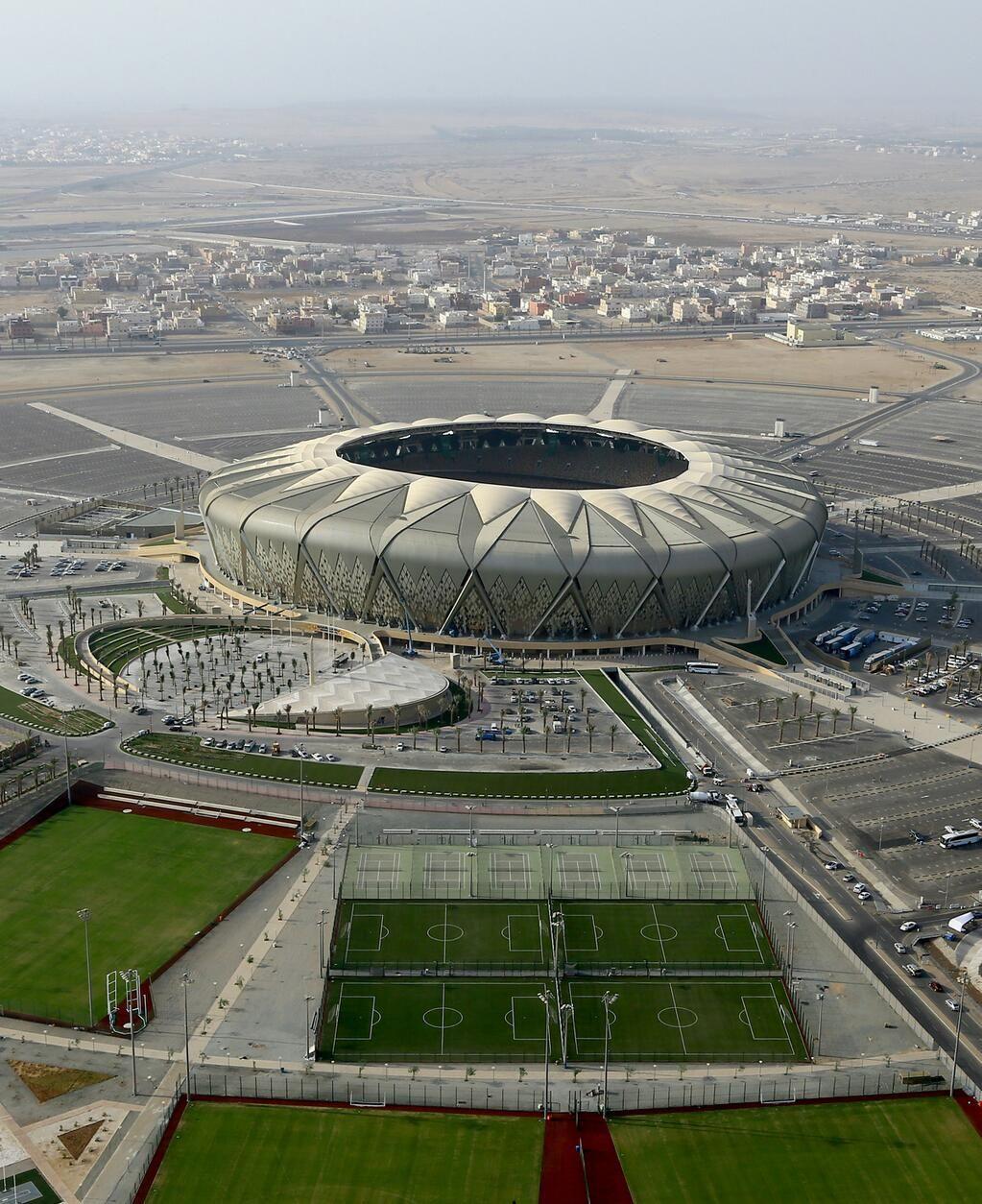 King Abdullah Sports City Stadium Al Jawhara Stadium Stadium Architecture Football Pitch Stadium