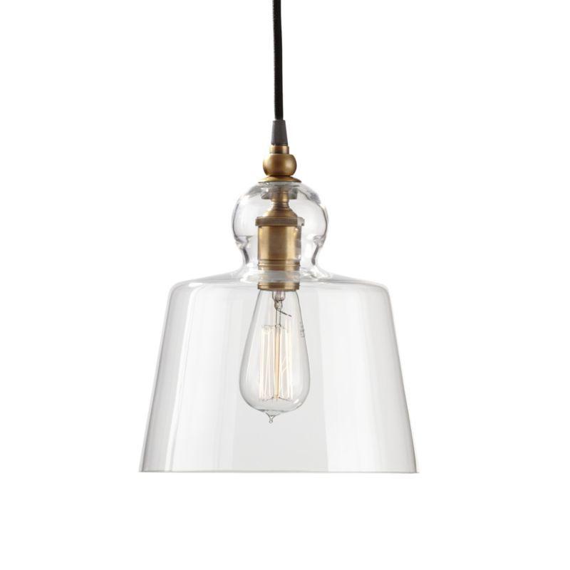Lander Brass Pendant Light Kitchen Brass Pendant Light
