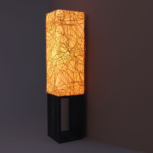 Square Column Floor Lamp 3d Model Lamp Ceiling Light Design Column Floor Lamp
