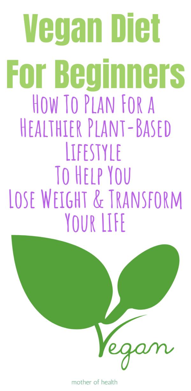 Photo of Vegan Diet For Beginners | Mother Of Health