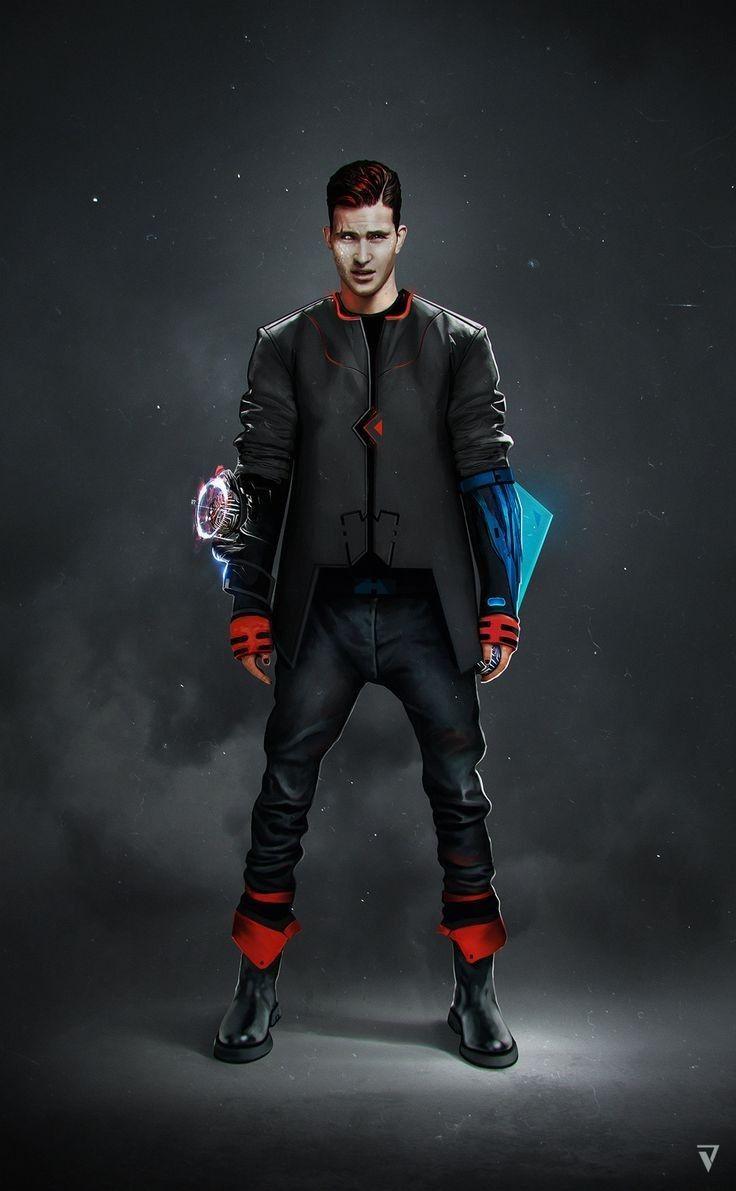 Pin on Characters: Modern / Sci Fi