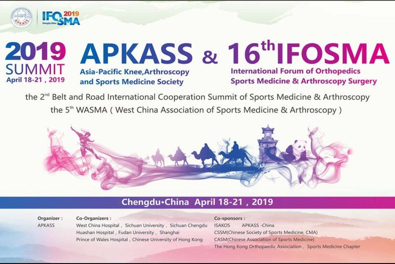 in Chengdu China The 2019 APKASS Summit & The 16th IFOSMA
