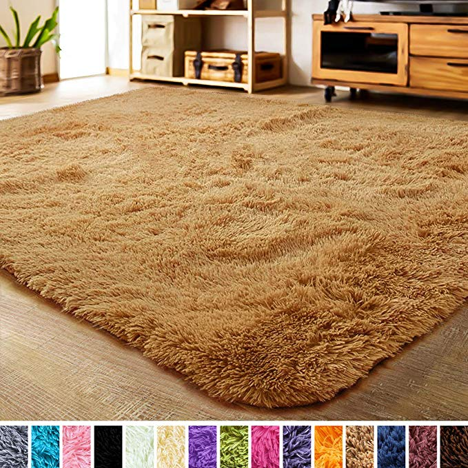Amazon Com Lochas Ultra Soft Indoor Area Rug Shaggy Bedroom