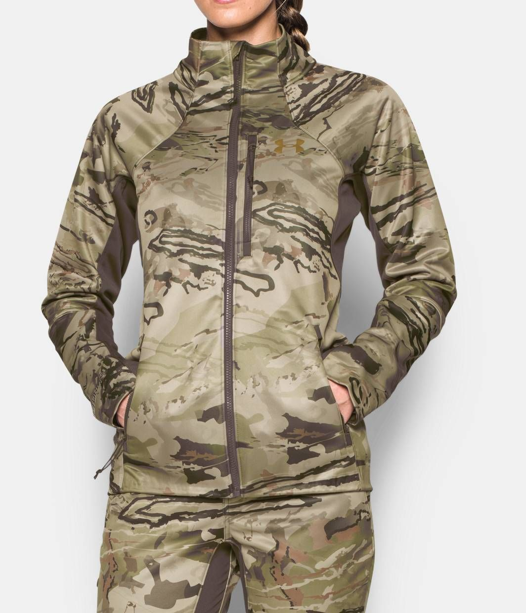 7dd76af92ba71 Women's UA Chase Jacket, RIDGE REAPER® BARREN | Hunter Gatherer ...