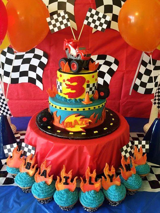 Ideas para organizar una fiesta blaze and the monster - Articulos decoracion online ...