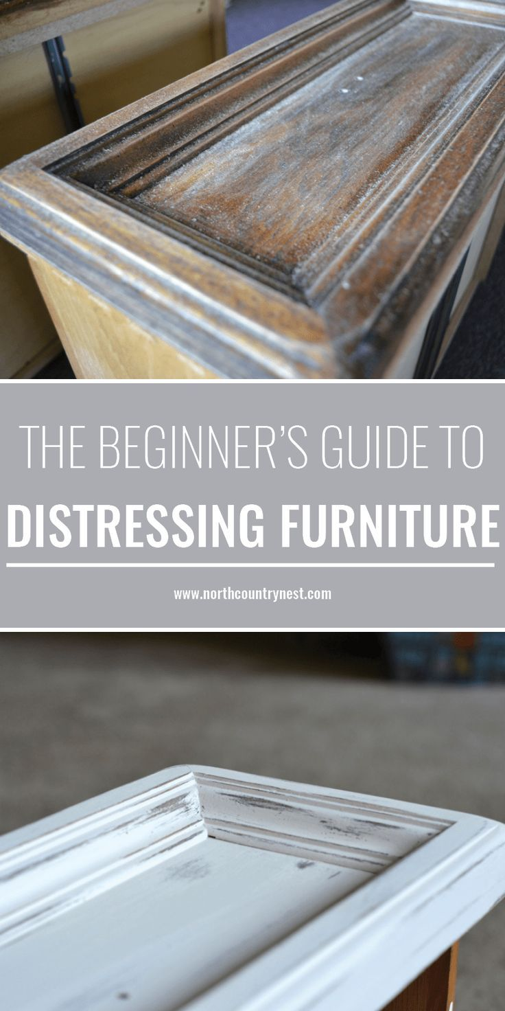 The Beginner   s Guide to Distressing Furniture th