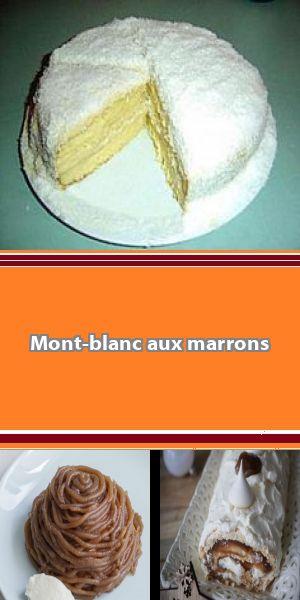 Mont Blanc : un classique et ses variations autour du marron A la fois, doux, fondant, croquant et moelleux, le Mont-Blanc est l'un de nos desserts de saison favoris. Découvrez comment le préparer et en varier la recette, tout en en conservant les saveurs. #montblancrecette