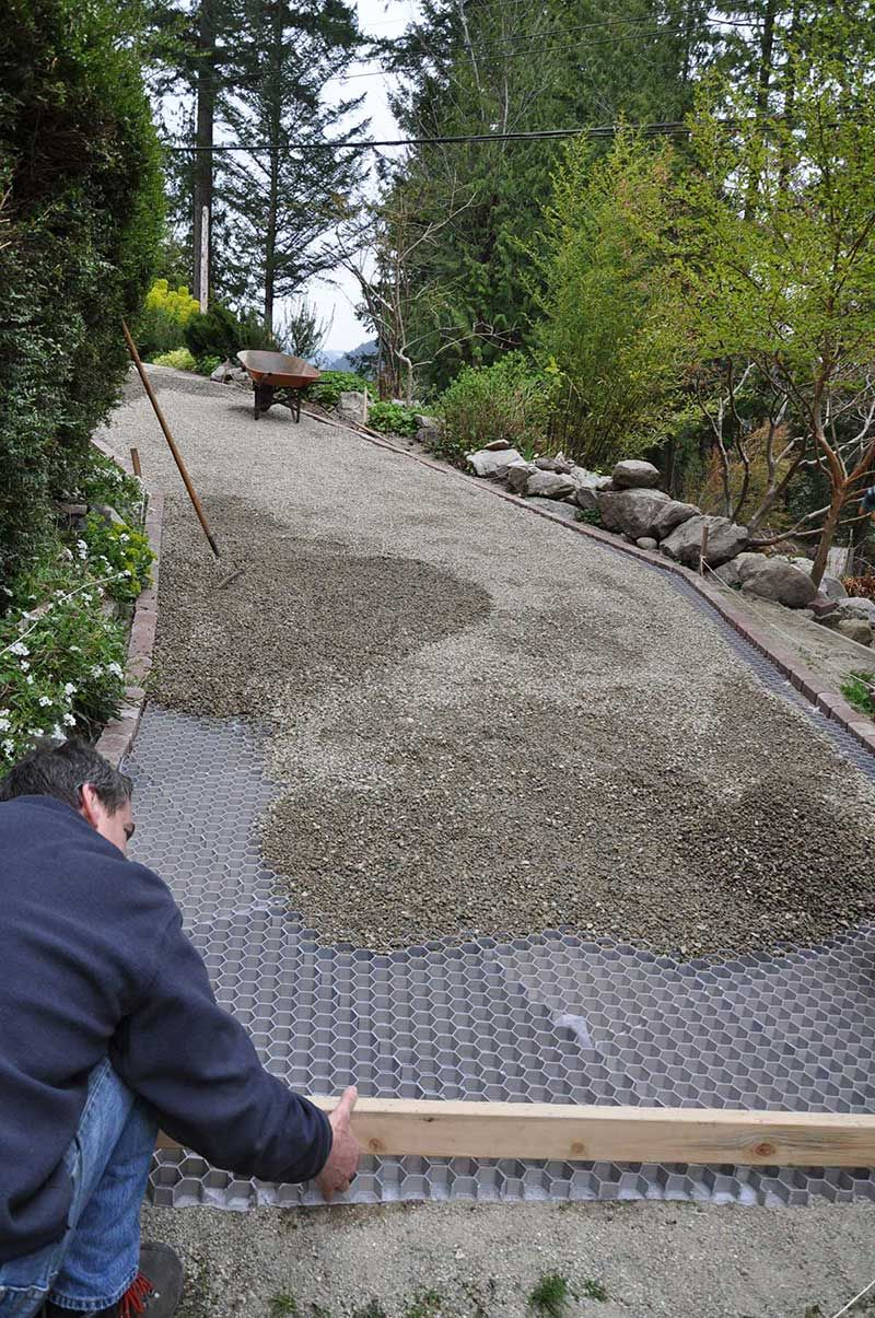 Core Systems Stabilized Gravel Project Installations Driveway