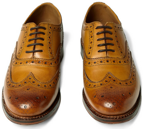 Brogue Shoes by Oliver Spencer