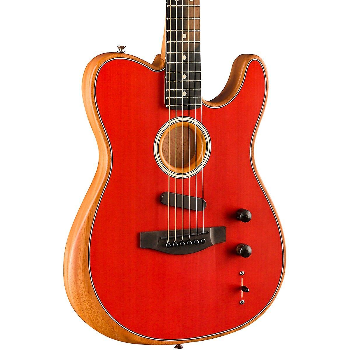 Fender Acoustasonic Telecaster Acoustic Electric Guitar Dakota Red Guitar Center Guitar Electric Guitar Acoustic Electric Guitar
