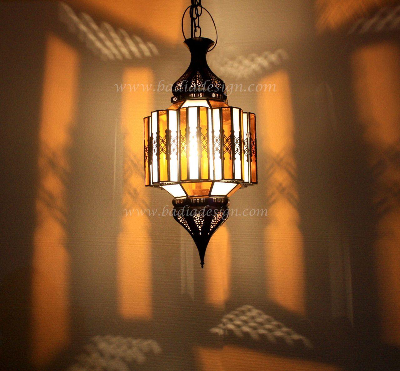 Hanging Glass Lantern - LIG107 & Hanging Glass Lantern - LIG107 | Tent lighting Moroccan and ...