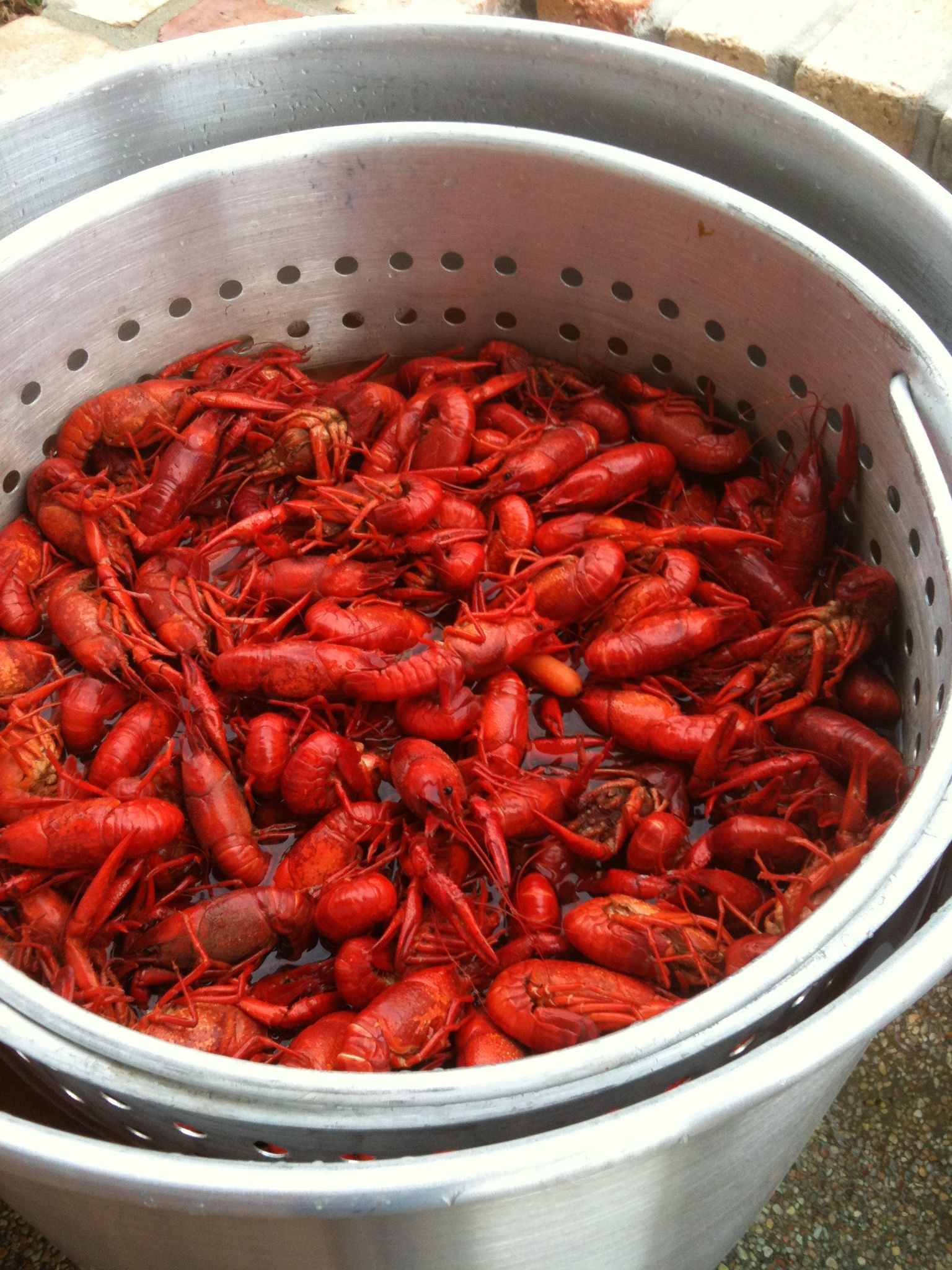 how a cajun guy in thibodaux boils spicy crawfish i need to give