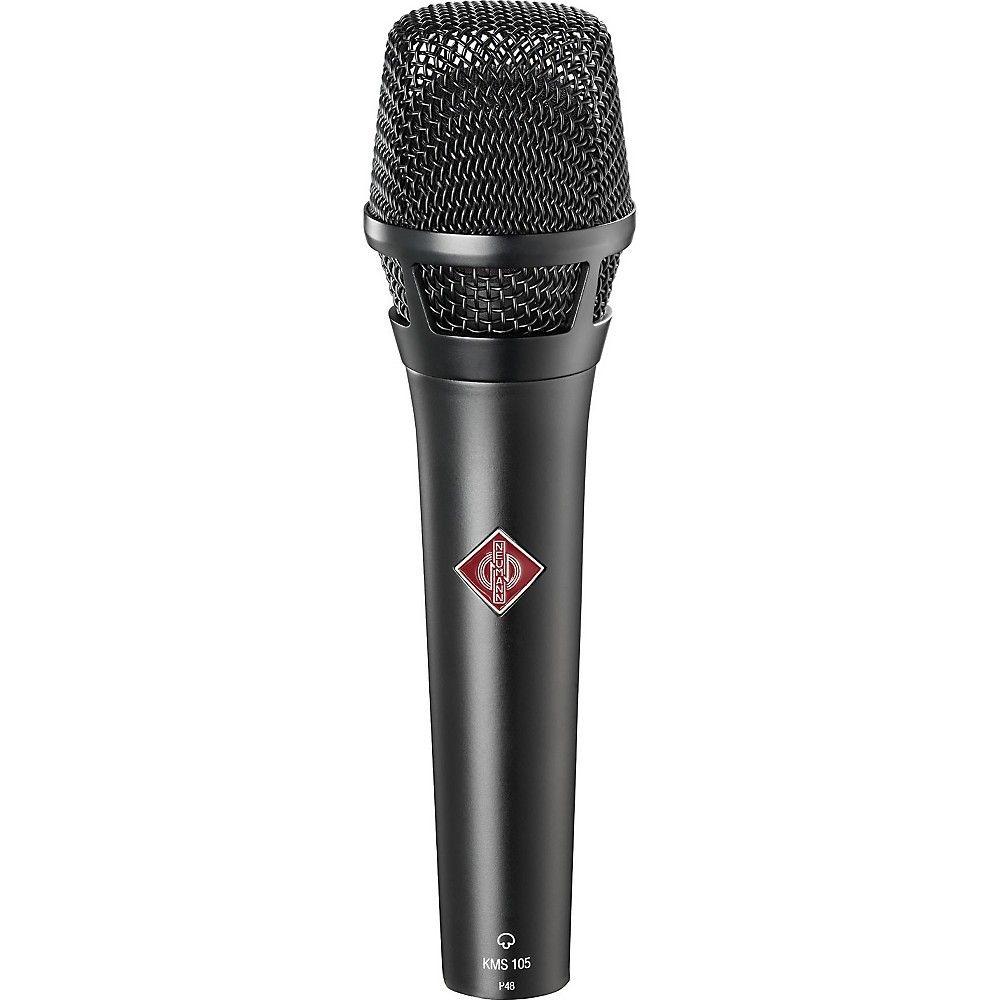 Neumann Kms105 Microphone Black Microphone Microphones Mic