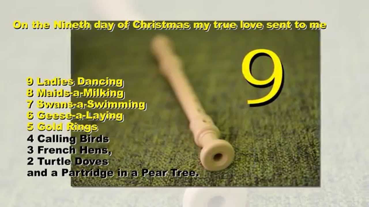 the 12 days of christmas free mp3 download httpwwwsinging - 12 Days Of Christmas Instrumental