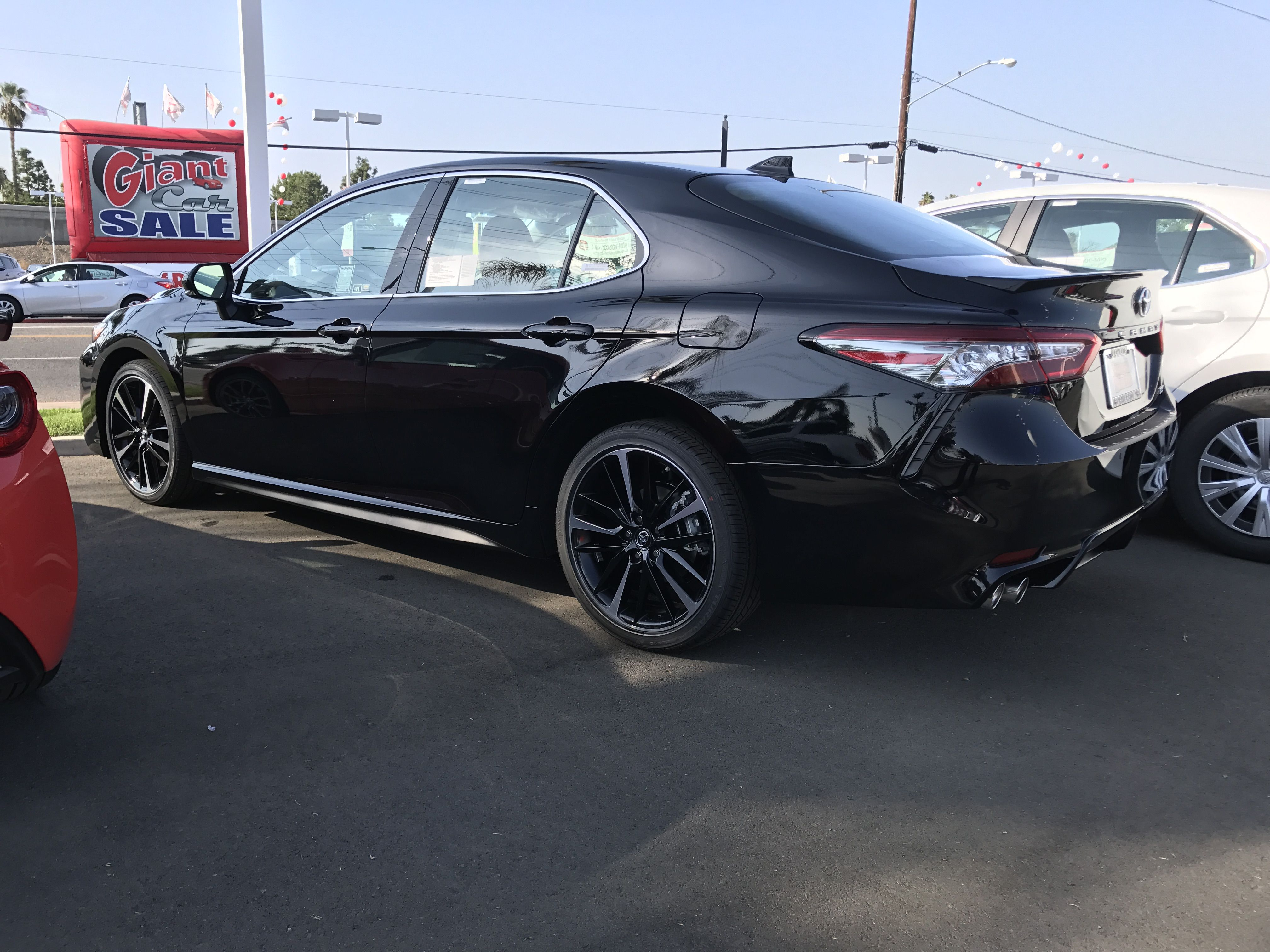 2018 Toyota Camry XSE V6 #Toyota #Camry | Cars Cars Cars