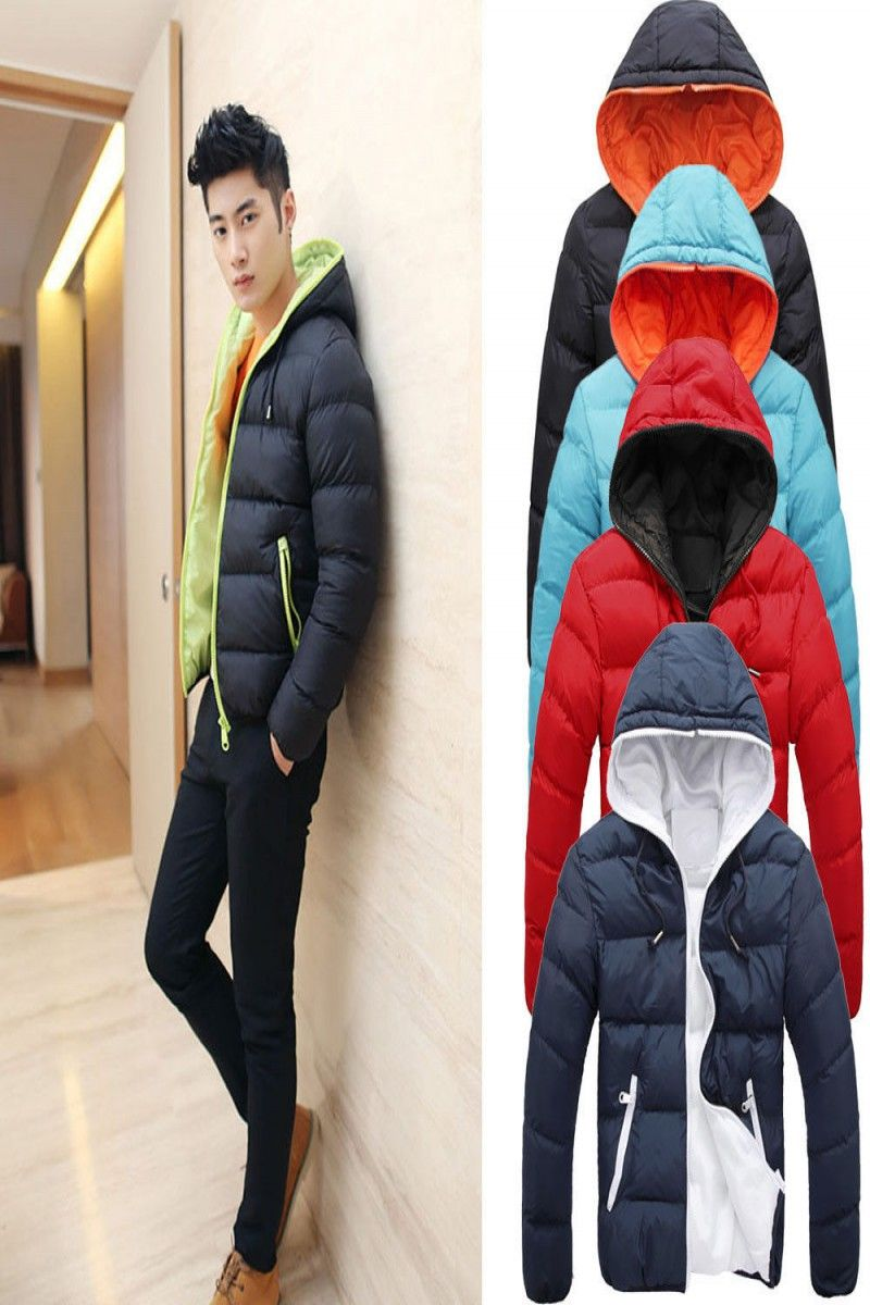 6409a83a2 18.35 | US Men Winter Warm Jacket Coat Hooded Thick Slim Hoodie Parka  Overcoat M-3XL ❤ #winter #warm #jacket #coat #hooded #thick #slim #hoodie # parka ...