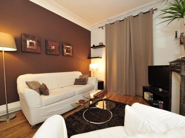 Jolie Deco Salon Couleur Chocolat Avec Images Deco Salon