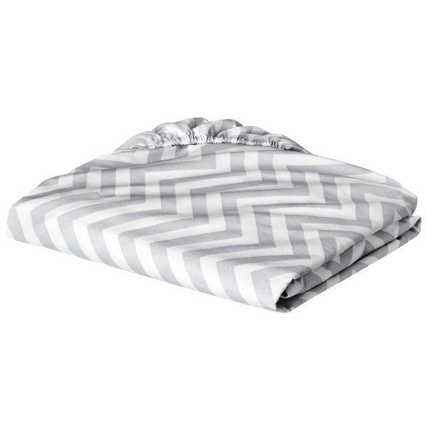 Circo® 100% Cotton Woven Chevron Fitted Baby Crib Sheet