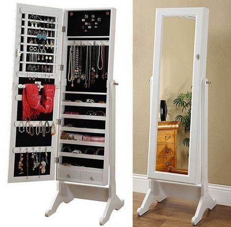 Full Length Mirror Jewellery Cabinet From Mynd Furniture