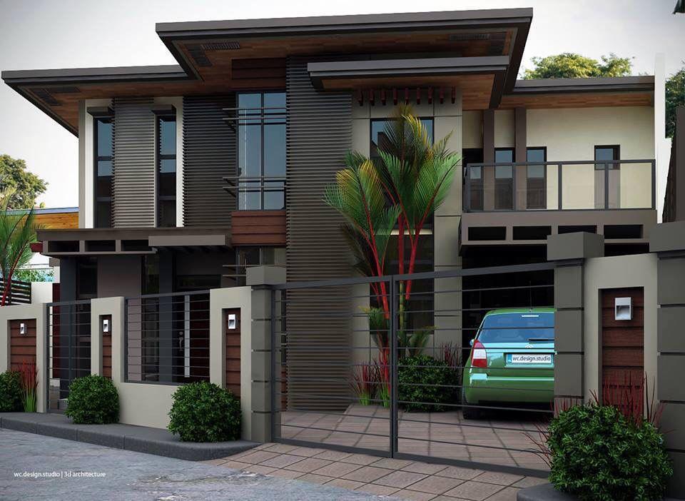 exterior design Casas Pinterest Fachadas, Casas y Casas modernas