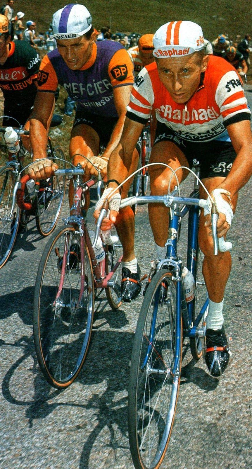 Jacques anquetil raymond poulidor miroir du cyclisme for Le miroir du cyclisme