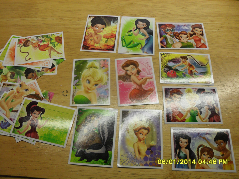 Assorted TinkerBell A fairy's Life PANINI sticker lot FREE
