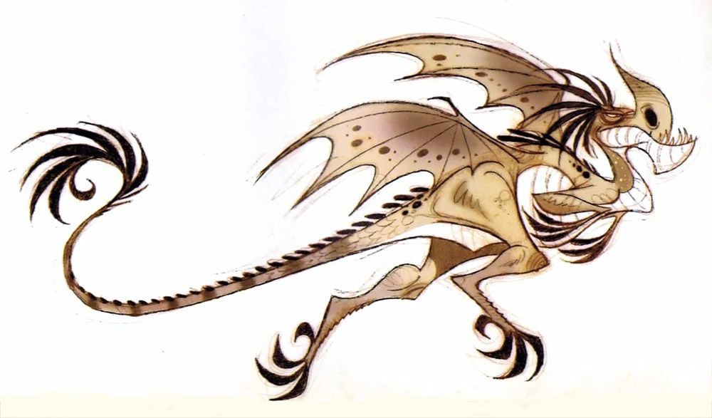 How To Train Your Dragon Concept Art Dragons