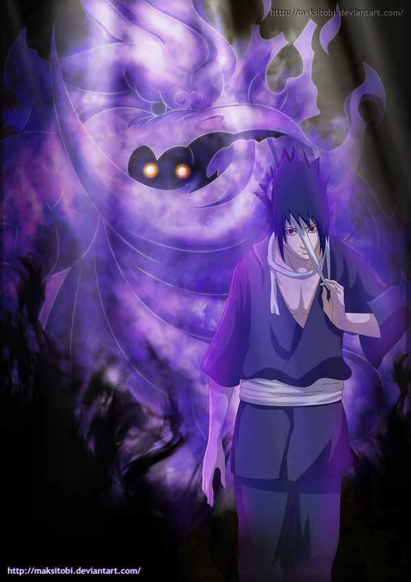 Power Of Mangekyou Sharingan By Maksitobi On Deviantart Susanoo