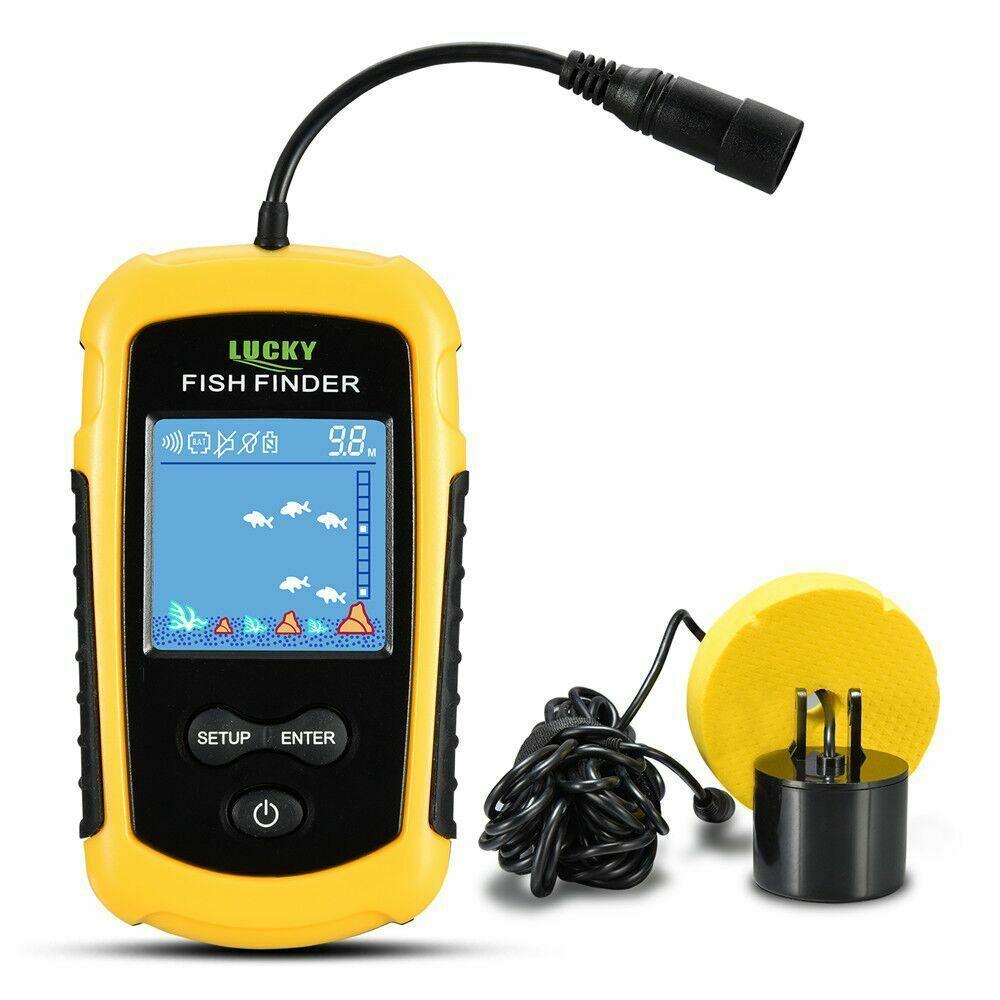 Alarm 100M Portable Sonar LCD Fish Finders Fishing lure