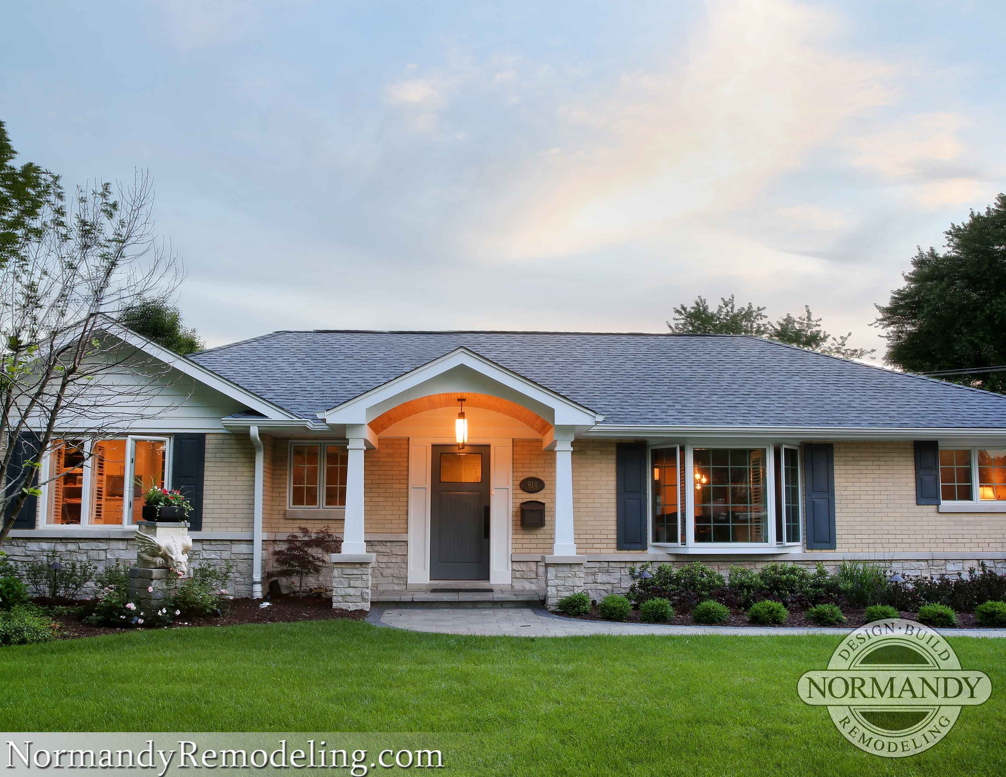Resultado De Imagen Para Ranch Without Shutters Ranch Style Homes Ranch House Remodel House Exterior