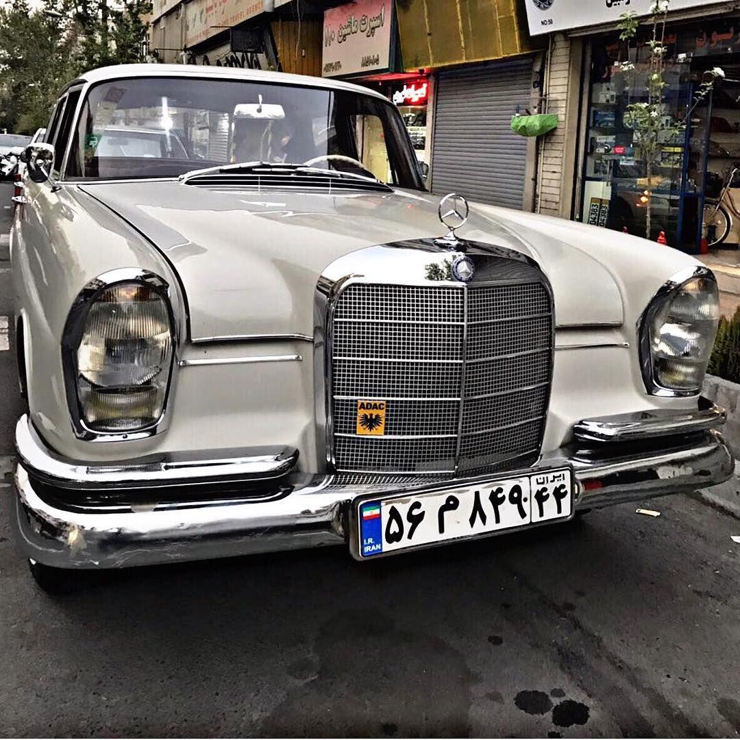 1964 Mercedes Benz W111 220s In Iran پيج بازسازى فولكس Vw Garage Tag Your Friends Mashin Classic