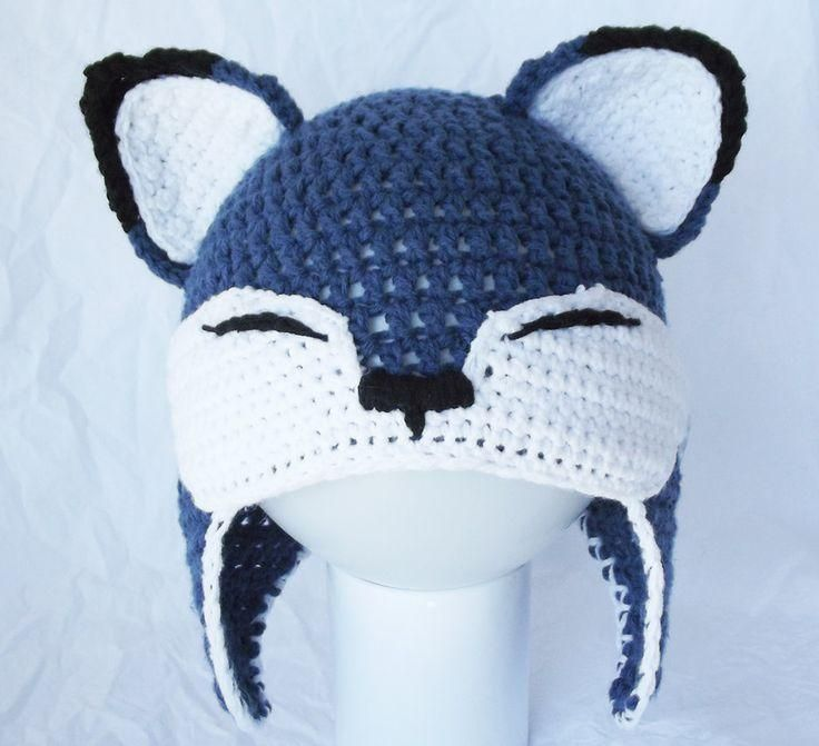 Looking for your next project? You're going to love Blueberry Fox Beanie by designer Crayons. - via @Craftsy
