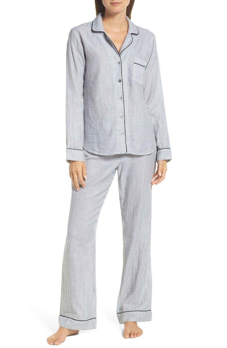 78db999d70 Free shipping and returns on UGG® Raven Stripe Pajamas at Nordstrom.com. Plaid  PJs in a lightweight cotton fabric are classic